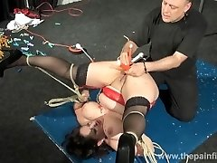 Enslaved milfs twat hot waxing and extreme bbw bdsm of fledgling slavegirl