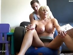 P3 - Step Mother needs a massage with no panties