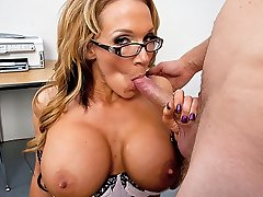 Nikki Sexx & Danny Wylde in My Very First Sex Educator
