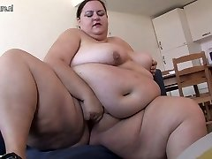 Very Gigantic doll loves getting horny by herself
