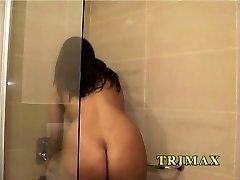 brandus indijos namų šeimininkė, dušo pirštais pūlingas