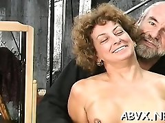 Woman endures bondage sex at home in non-pro video