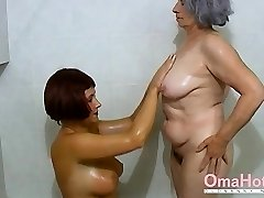OmaHoteL Granny and Mature are Frolicking Together