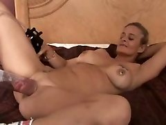 First-timer Mature Pumps Huge Pussy plus Big Black Cock