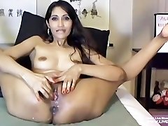 Nasty petite milf Deb hardcore fists her ass