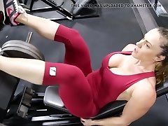 Fitness warm ass hot cameltoe 80