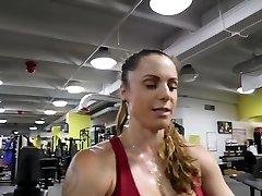 Γυμναστήριο, καυτό κώλο ζεστό περουκίνι 80