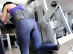 fitnesa hot ass karstā cameltoe 90