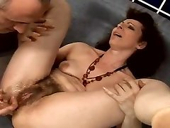 hairy babica analni squirter