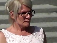 Finnish mature lady flash