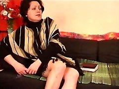 Nami vanaema koos lõtv keha & karvane vitt