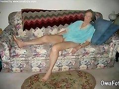 omafotze namų granny nuotraukų sudarymas