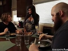 Mother Sheila Marie In Stocking Wakes Up Son With Blowjob