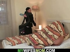 Mom-in-law taboo sex is unsheathed!