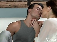 MOM Boy fucks aged housewife in the booty