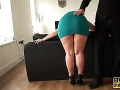 Mature slave assfucked until crimson raw and ruined