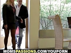 Moms Passions - Sealing the deal with romp