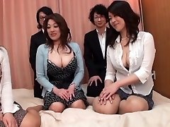 Japanese AV Models are into a super hot and insatiable face-sitting and more