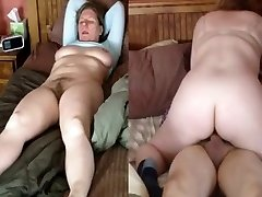 Wife rails and ejaculation