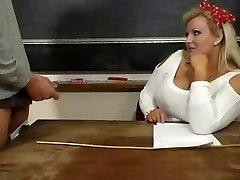 Karšto Brandus BBW Mokytojas Kirsten Halborg