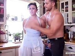 Submissive Mom and Teen Get Predominated