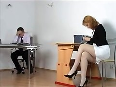 Kirsty Blue - Horny Secretary getting punished by Chief