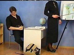 Russian Granny Schoolteacher And Her Student mature mature porn grannie old cumshots cum-shot