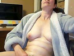 žmona masturbuojantis
