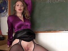 ponia mokytoja ir jos mokinys