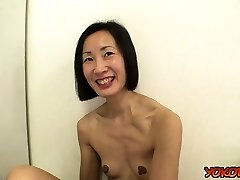 Japan mature casting and jizz shot