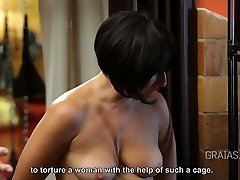 Sinner whore introduced to the cage