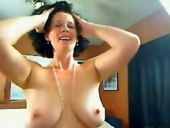 Me Busty housewife Shanon teasing on web cam