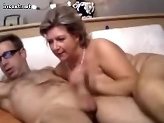 High class mature enjoys a younger cock