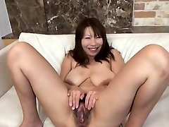 Busty model finest handjob