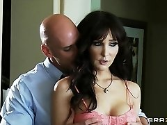 Slutty busty COUGAR Diana Prince fucks her stepson's college recruiter
