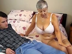 Aged Love Old lady Savana fucked by schoolgirl Sam Bourne