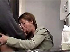 sexy mom sucking humungous cock and swallowing