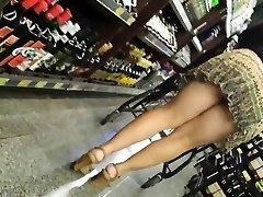 Candid Mature Panty - Monstrous Arse Voyeur - Bendover Ass