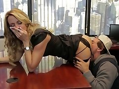 Divine blonde mommy Jessica Drake is pulverized really well
