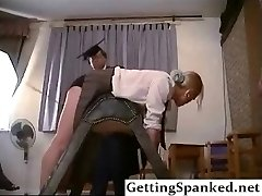 Spanking Girl In Extraordinary Fetish Porno