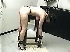 Incredible homemade BDSM, Slapping sextape