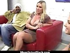 "Hot Milf takes on 11"" Huge Monster Ebony Cock 25"