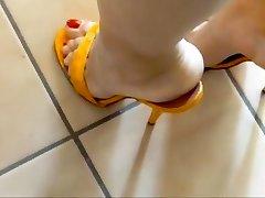 14 सेमी gelbe kroko steilpantos