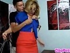 Blonde mom forced fuck von teenager Sohn