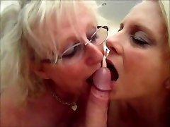 mummy janet n wife susie in'cum-swap' action