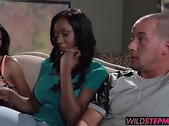 Codi Bryant ambles in on Anya while shes providing him a blowjob