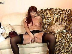 Strip-tease mature