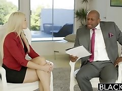 BLACKED Business Towheaded Anikka Albrite Ass Plumbed By a BBC