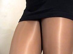 crossdresser stocking black