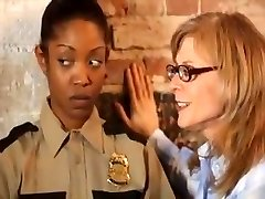 Blonde Milf And Redhead Fuck Black Girl With Strapon Video.